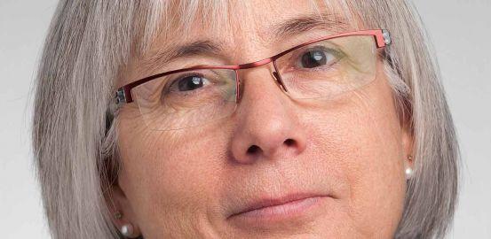Prof. Diane Morin, directrice de l'Institut universitaire de formation et de recherche en soins de Lausanne