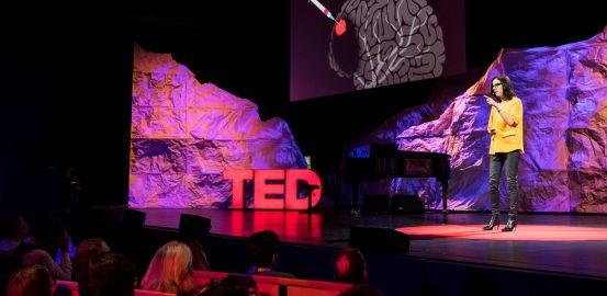 Jocelyne Bloch aux TED