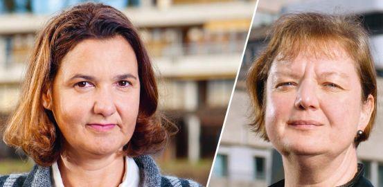 La chercheuse Anne-Sylvie Ramelet et la clinicienne Françoise Ninane