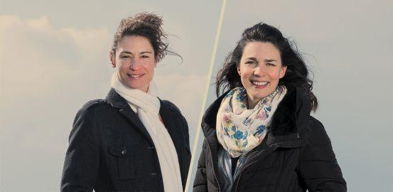 Marie-Claude Boulet et Estelle Bezençon