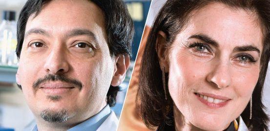Francine Behar-Cohen et Carlo Rivolta